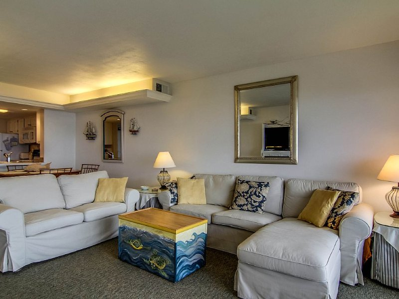Sparkling Clean Oceanfront Condo at Amelia Surf & Racquet, holiday rental in Fernandina Beach