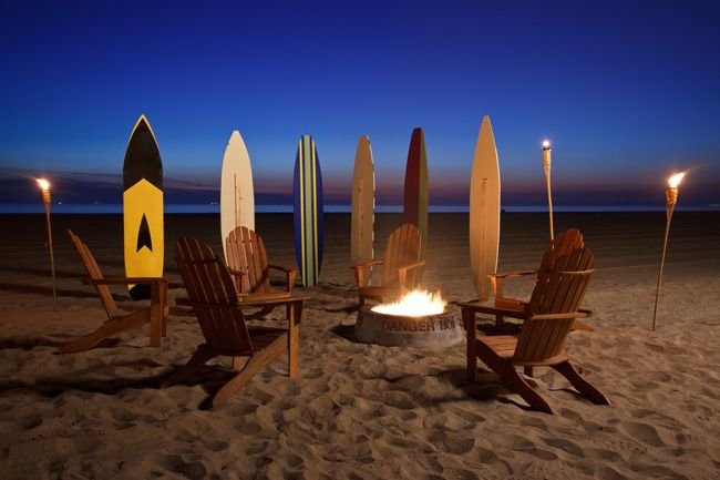 Fire pit, sunsets and you can see Catalina Island. What more do you need?