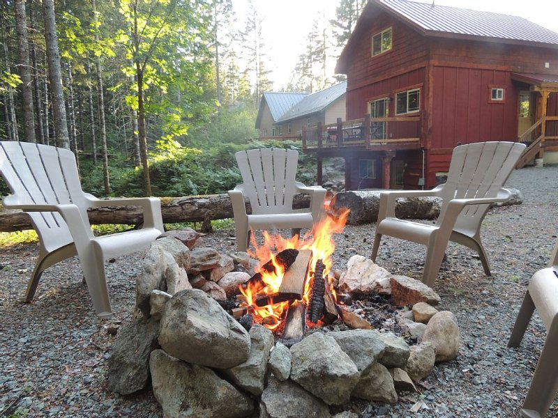 A Well Kept Secret. Great for Skiers, Hikers,  or Romantic Getaway., holiday rental in Packwood