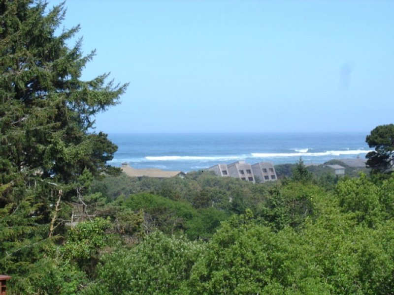 Salishan ocean view home with a great deck, location de vacances à Gleneden Beach