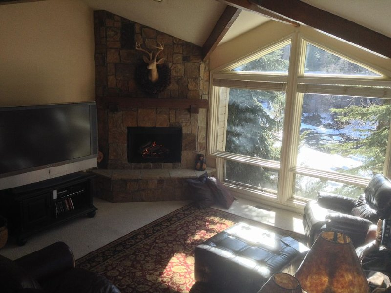 5BR, 4 1/2 BA Dog friendly retreat. Close to everything! On the Eagle River, location de vacances à Beaver Creek