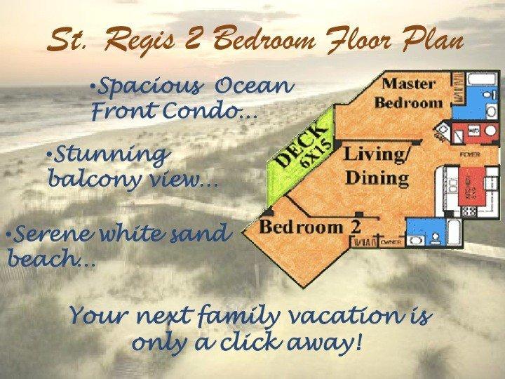 Top Floor At St. Regis Resort - 2 BDR Ocean Front Condo, holiday rental in North Topsail Beach
