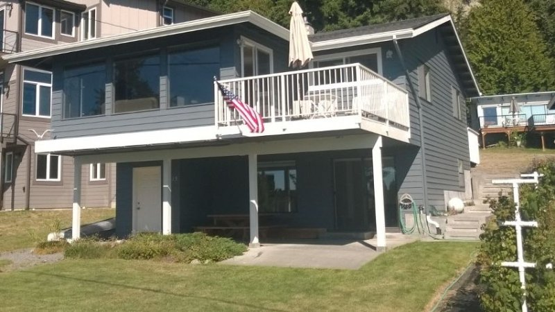 McKees Beach house located on one of the nicest beaches on Port Susan Bay., vacation rental in Stanwood
