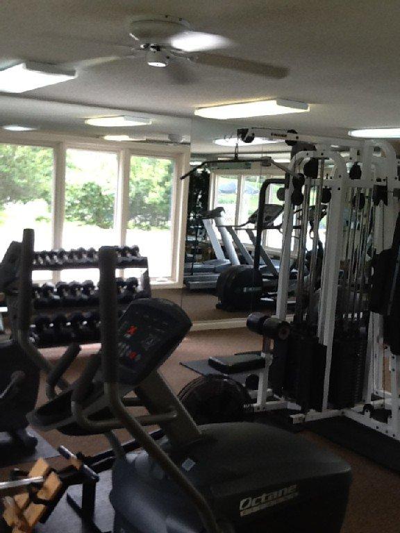 Club fitness center