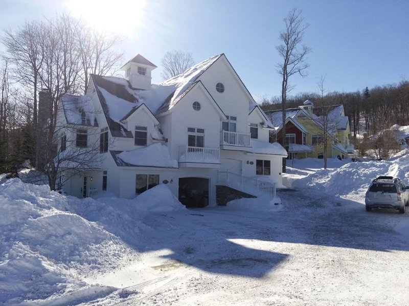 Stratton Mountain Solstice Luxury 5 bedroom Ski-In/Out Vacation Home, holiday rental in Green Mountains
