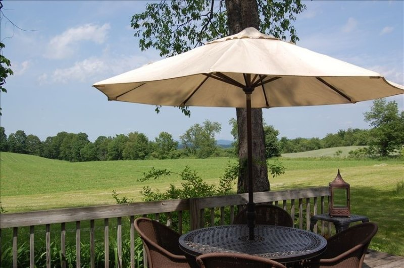 Private & Secluded; Sweeping Views Over Valley, vacation rental in Saratoga Springs