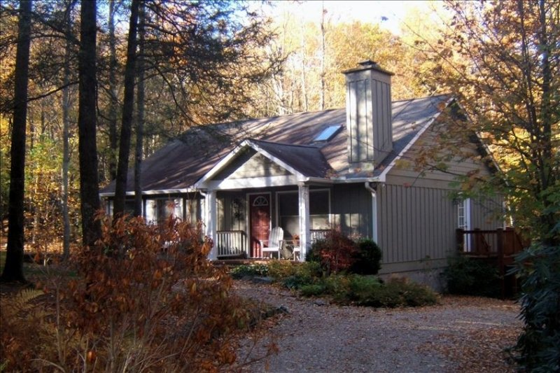 Nestledown - Peaceful Mountain Retreat!, holiday rental in Highlands