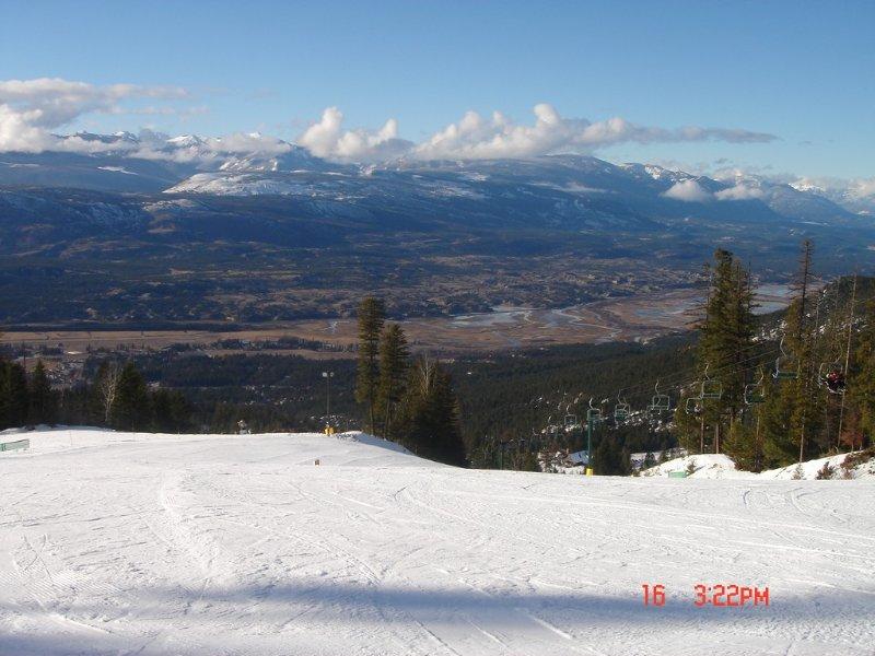 Fairmont Hot Springs Ski hill