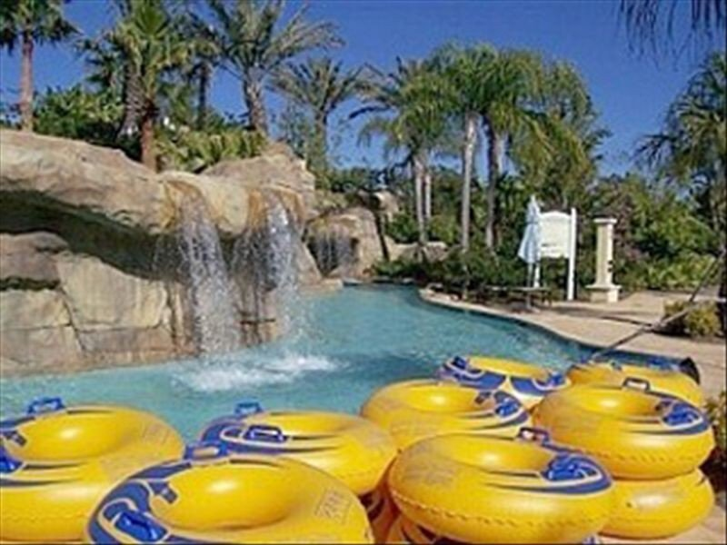 Relax and enjoy floating down the Lazy River at the Water Park