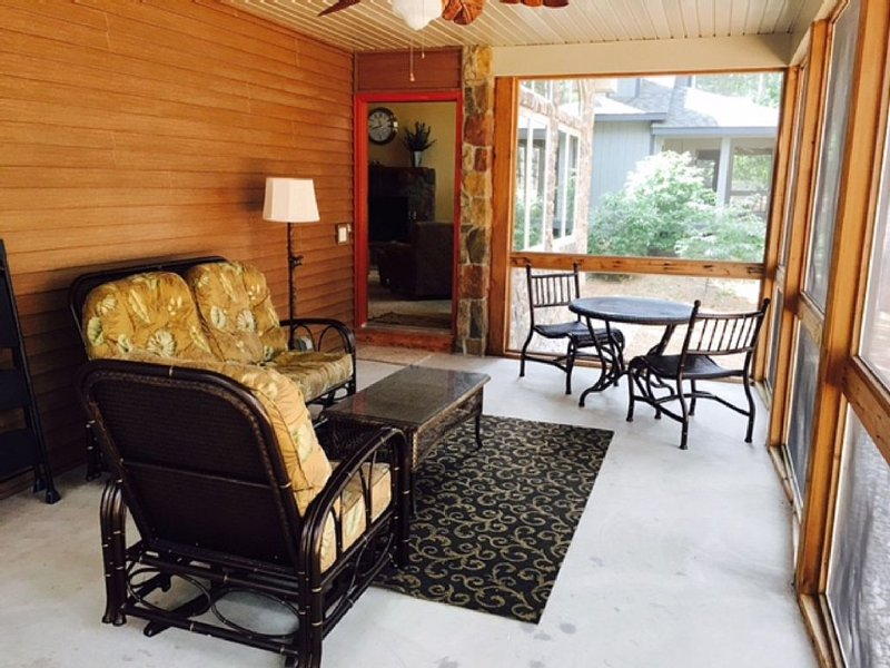 Screened-in porch available July 1- October 1