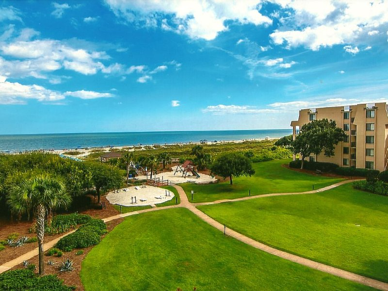 Atlantic Ocean View, 3402 Island Club, vakantiewoning in Hilton Head