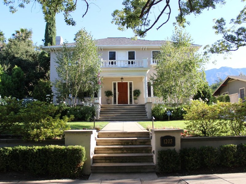 **1922 Grand Italian Revival Home in Pasadena Landmark District**, alquiler de vacaciones en Arcadia