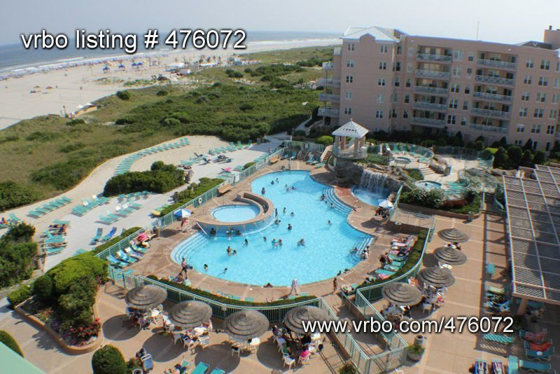 Private Beach & 4 Nice Pools! Seapointe Village TRUE 2BR - Wildwood/Cape May NJ, aluguéis de temporada em Wildwood Crest