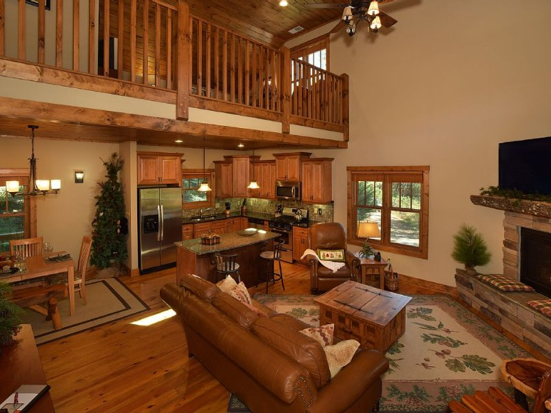 20% OFF – EDELWEISS LODGE – Luxurious Retreat in Blowing Rock, alquiler de vacaciones en Blowing Rock