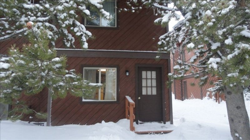 West Yellowstone/Intown Condo.   Snowmobiling directly from front door. Hiking, holiday rental in West Yellowstone