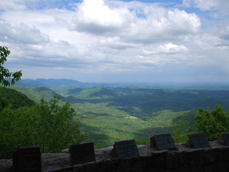 Pretty Place chapel overlook