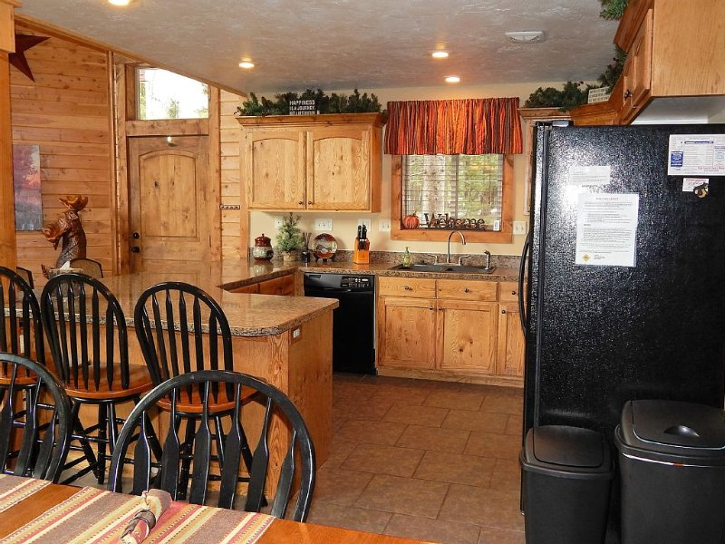 Well appointed kitchen with plenty of room