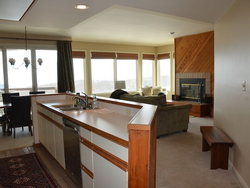 Beautiful Views at this Ski-In Ski-out Condo!, holiday rental in Roseland