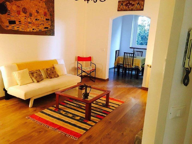 una tranquilla casetta a Mondello, vacation rental in Raffo