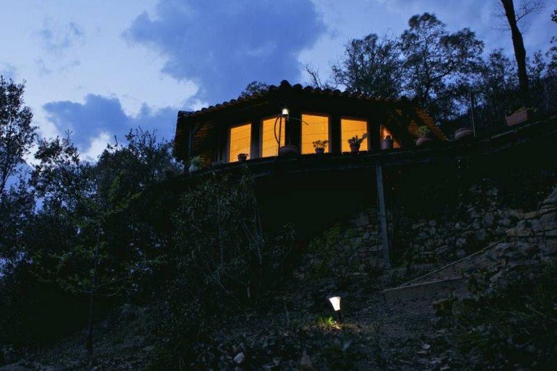 Dans le Parc National des Cévennes, une maison dans les arbres., location de vacances à Gard
