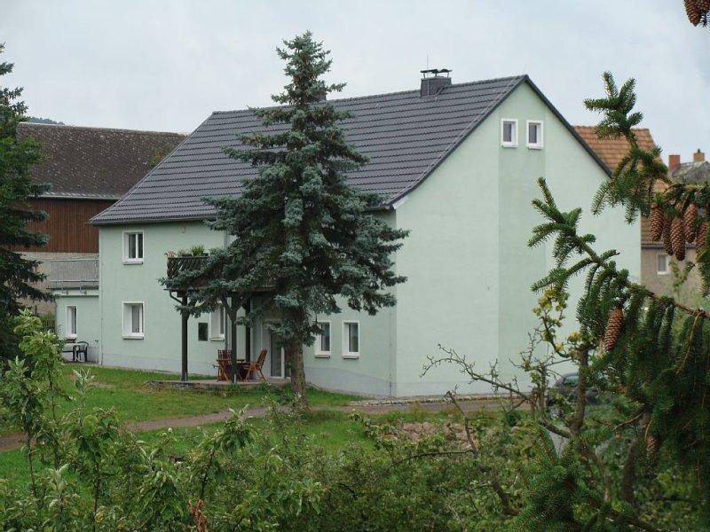 Urlaub auf dem Lande direkt neben der Uhrenstadt Glashütte, vacation rental in Lauenstein