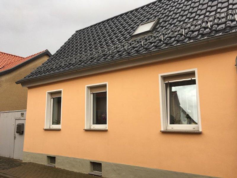 direkt bei  Quedlinburg der berühmten Unesco Weltkulturerbestadt, holiday rental in Stangerode
