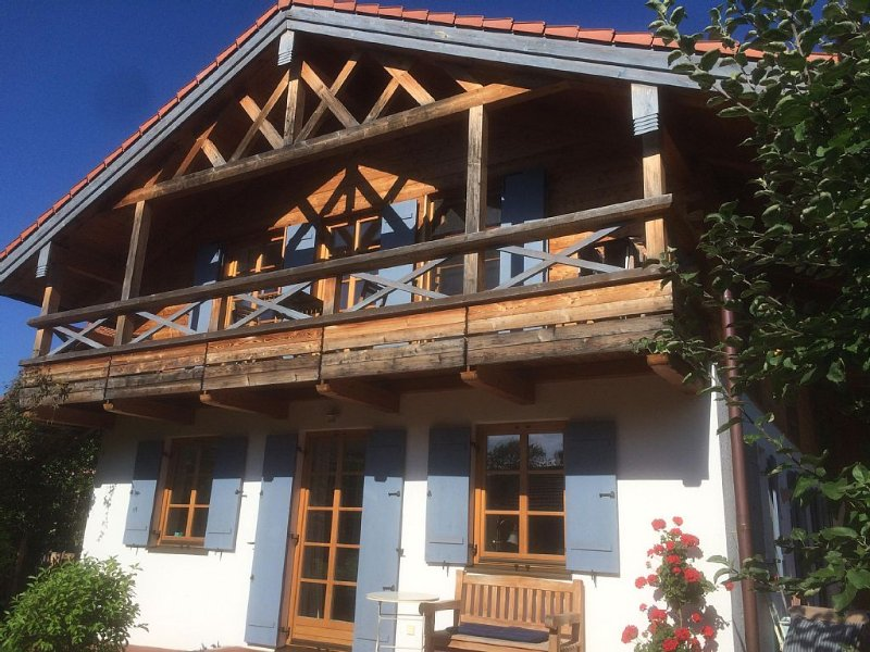 Located in the old town center, yet completely quiet, holiday rental in Upper Bavaria