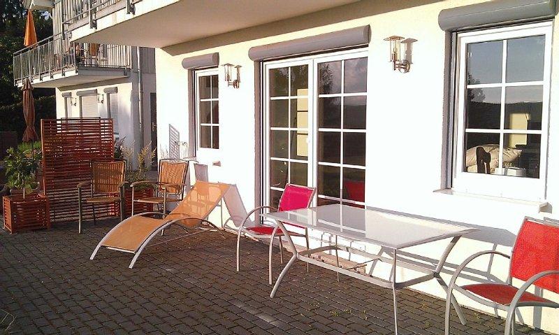 Ferienhof Rothenberg Appartement 1 - freie Sicht auf tolle Landschaft, alquiler de vacaciones en Neckarsteinach