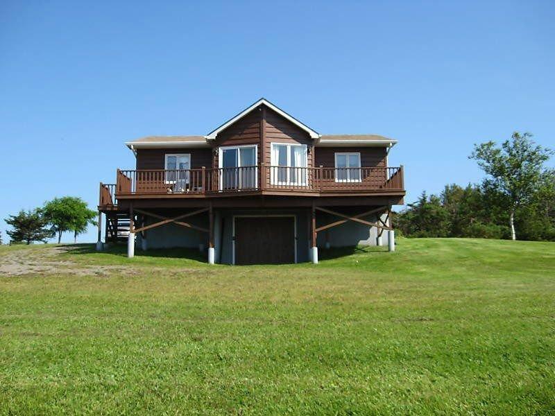 Ferienhaus von der Wasserseite aus