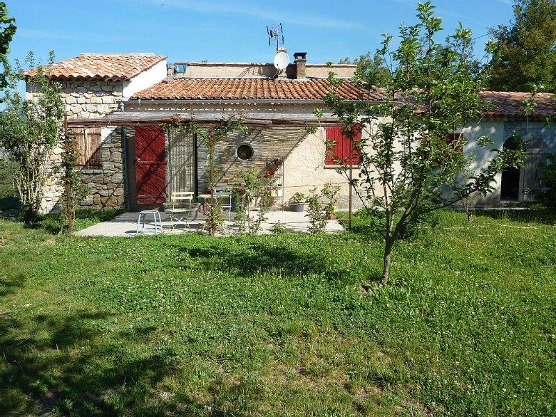 Belle maison de campagne au coeur des gorges du verdon, vacation rental in La Palud sur Verdon