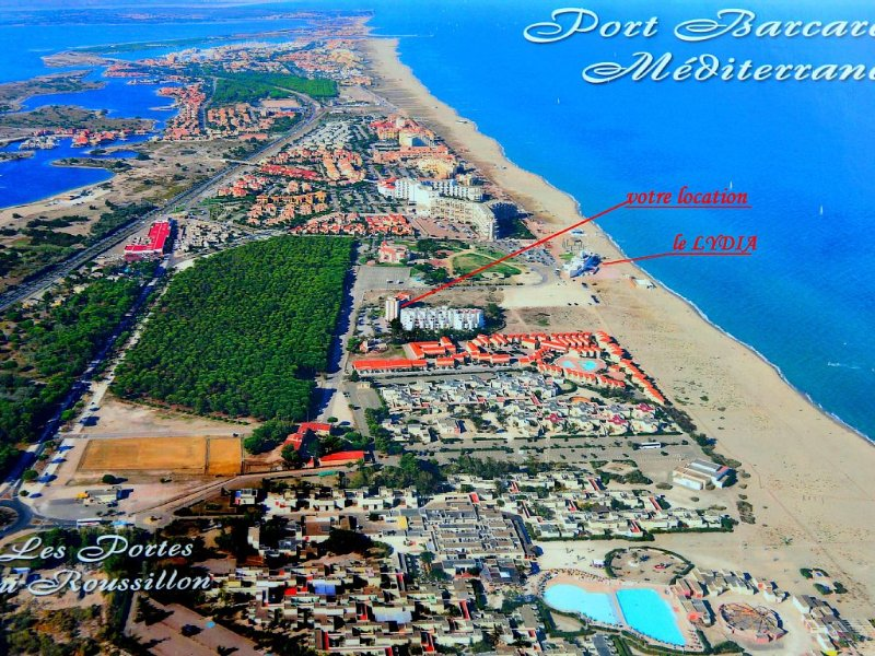 la location et la grande plage