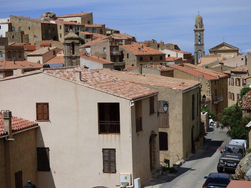 speloncato vue magnifique au coeur de la balagne proche mer proche ile rousse, vacation rental in Speloncato
