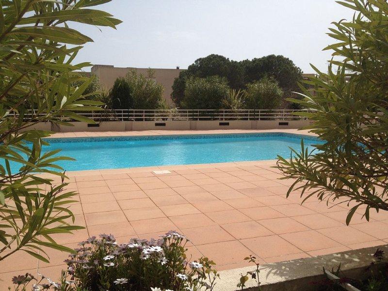 Appartement Cannes golfe Juan avec piscine, holiday rental in Vallauris