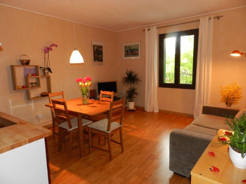 Appartement sur les quais en bord de Sorgue, vacation rental in L'Isle-sur-la-Sorgue