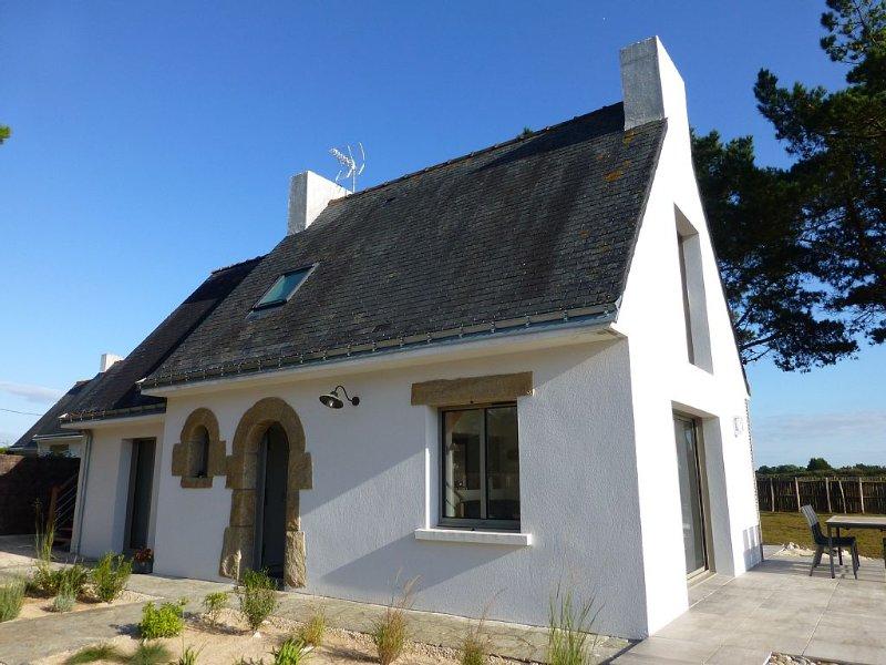 Property in France, Penestin, sea view, 150 m beach and coastal path, vacation rental in Penestin
