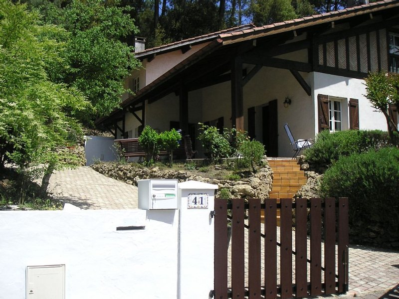 In the pine forest, near the golf of Hossegor, holiday rental in Capbreton