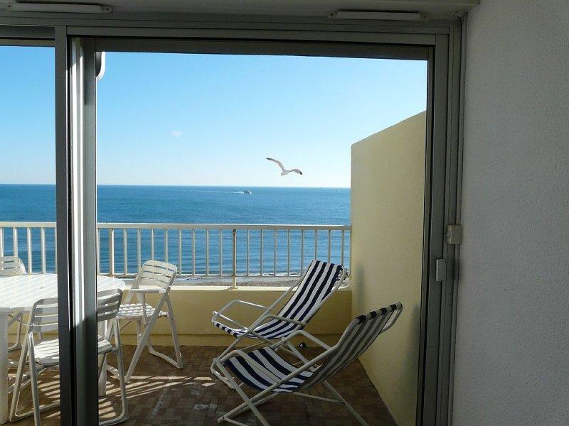 La mer a vos pieds,sous votre fenetre, holiday rental in La Tamarissiere