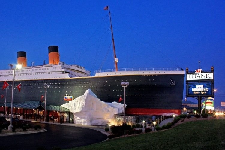 Experience the past with the Titanic Museum.