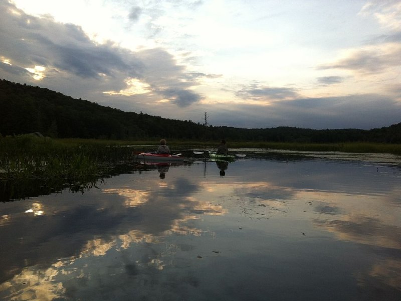 Kayaking at the Marsh in Chesterfield - 15 minutes away.