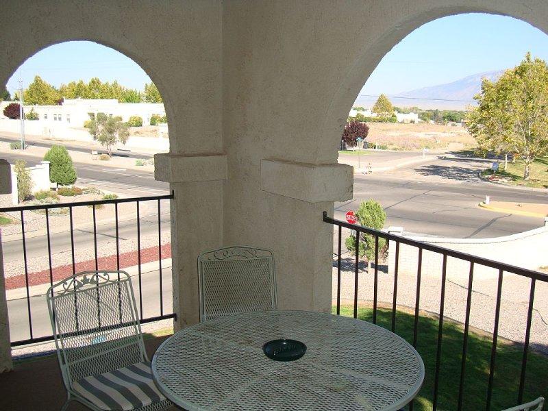 Balcon avec vue nord et est