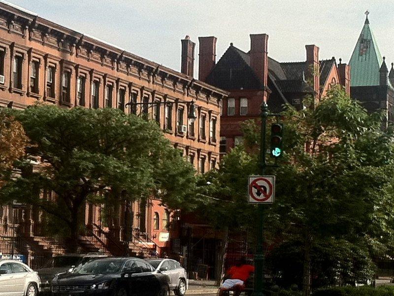 Beautiful Harlem architecture on Lenox Avenue/Malcom X Blvs
