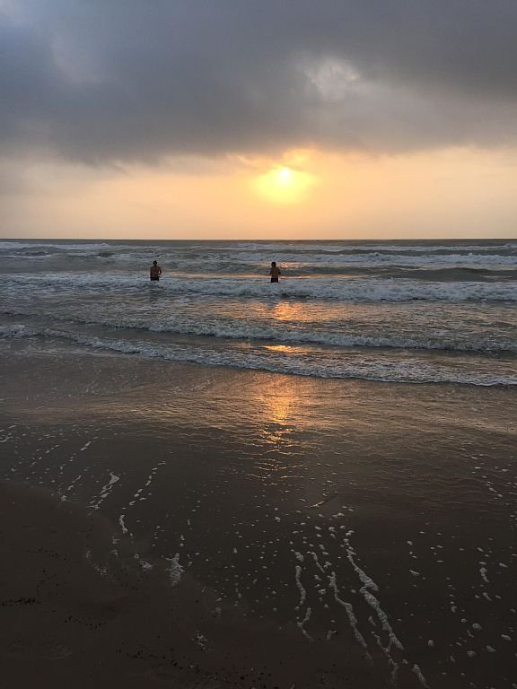 pêche surf matinale