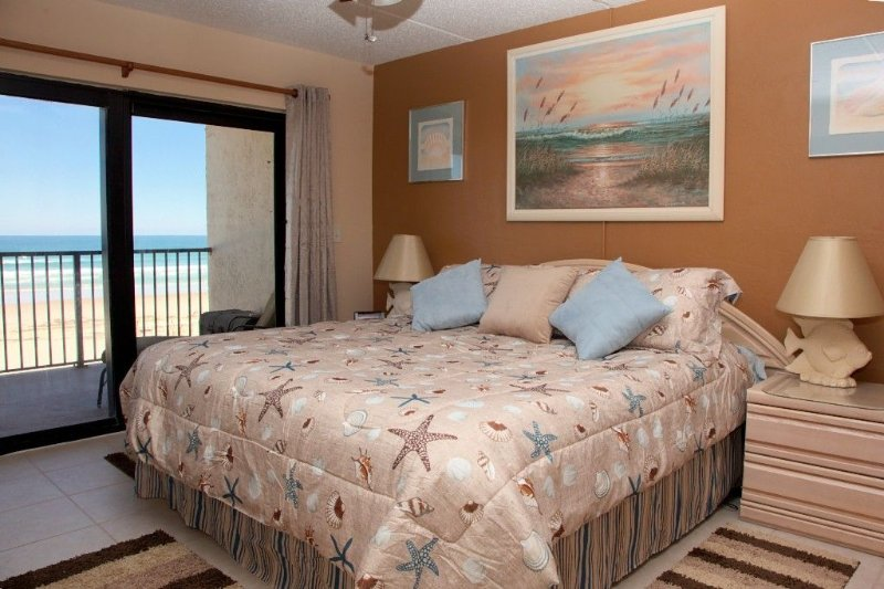 Direct Oceanfront, Large 2/2, Special Rates for Available Dates in 2020!!, holiday rental in Daytona Beach Shores