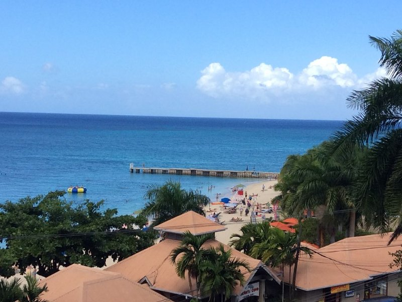 Impressive Studio With Captivating Ocean View Overlooking Doctors Cave Beach, holiday rental in Montego Bay