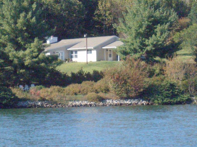 Utsikt från Smith Mountain Lake