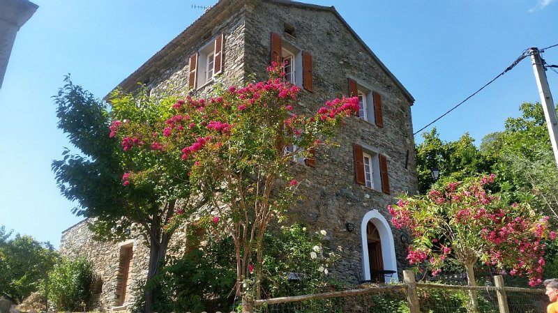 A LOUER MAISON TRADITIONNELLE CORSE T4/T5, holiday rental in La Porta