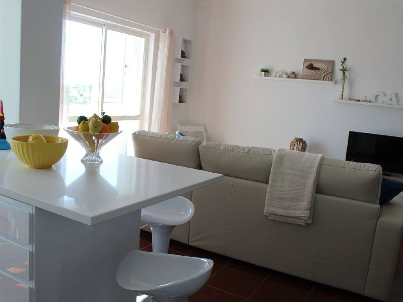 Modern, Newly Renovated Beautiful 2 bedroom Ocean View Apartment, aluguéis de temporada em Praia da Rocha