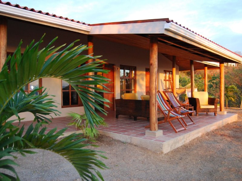 Casa con vista maravillosa sobre el pacifico en un ambiente natural y tranquilo, casa vacanza a San Juan del Sur