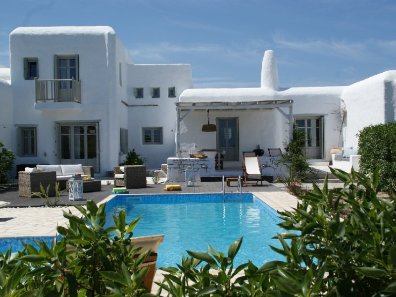 Greek villa with private pool-ESL1175K92000, holiday rental in Kolimpithres