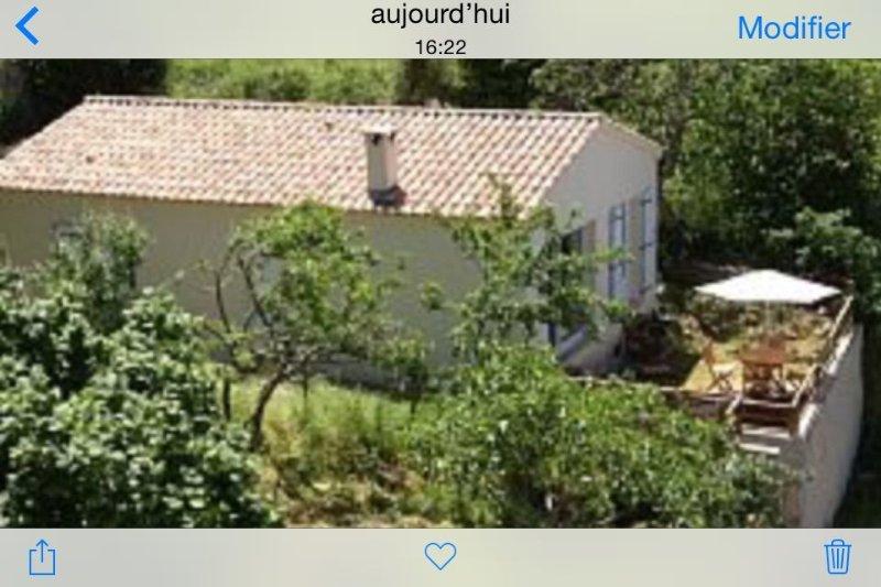 Peri: Maison avec jardin, holiday rental in Cuttoli-Corticchiato